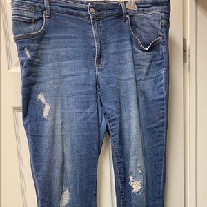 CHICO's Platinum Boyfriend Jeans